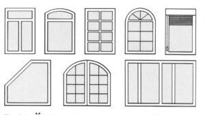 Tipuri ferestre