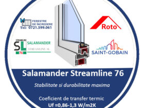 Profile Termopane Streamline 76